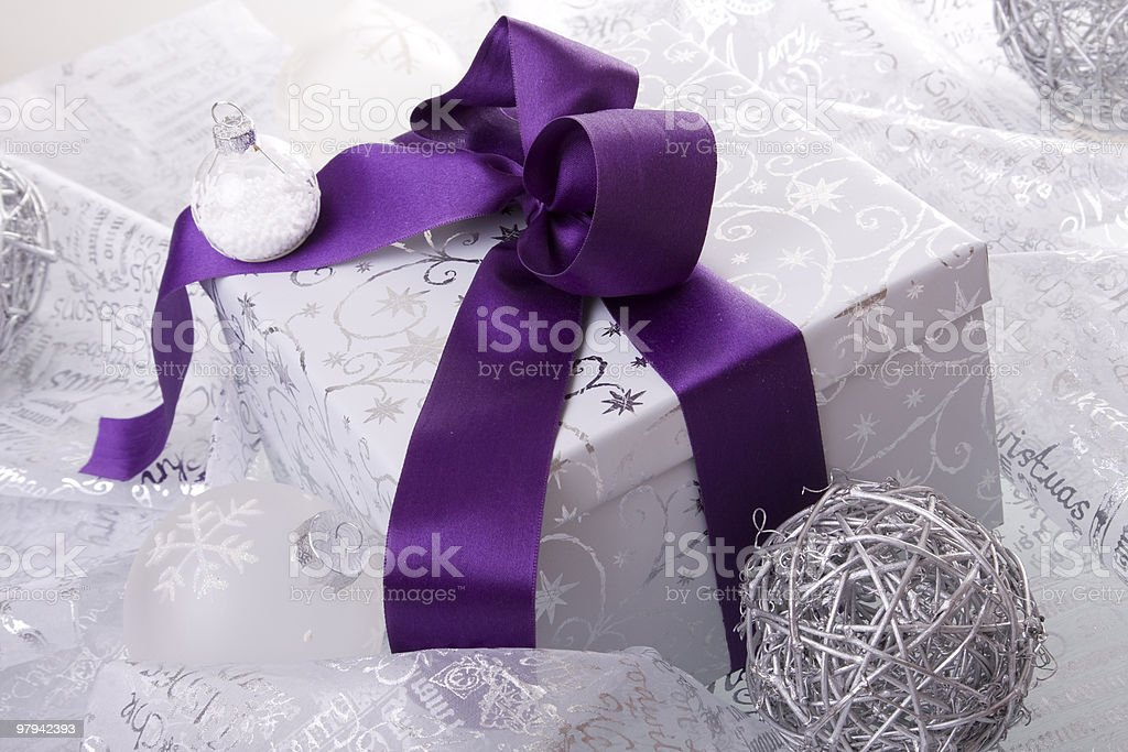 christmas present decoration royalty-free stock photo