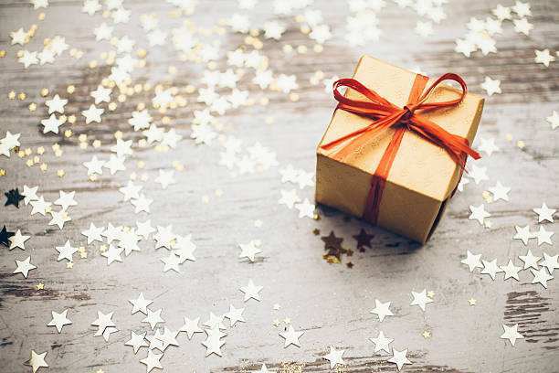 christmas present - gift stock photos and pictures