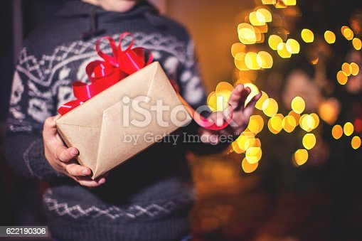 istock Christmas present 622190306