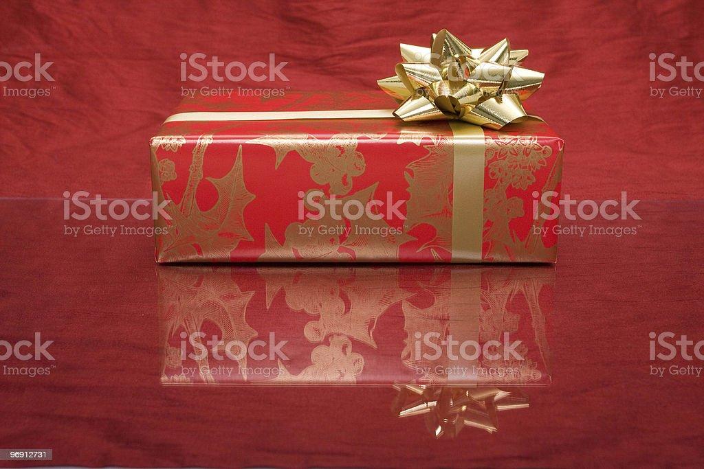 Christmas present royalty-free stock photo