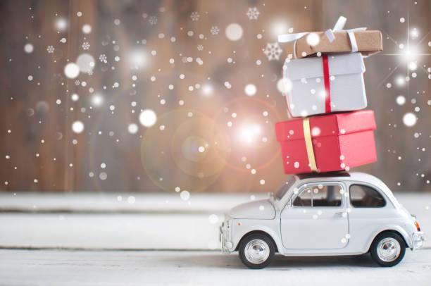 christmas presents - christmas background стоковые фото и изображения