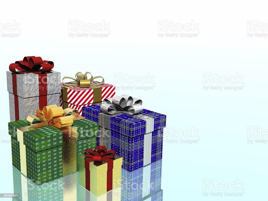 Weihnachts geschenke Lizenzfreies stock-foto