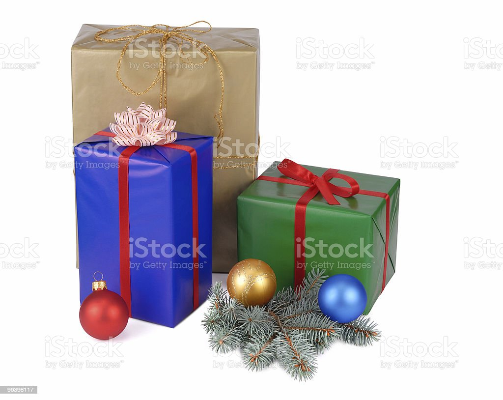 Christmas Presents - Royalty-free Box - Container Stock Photo