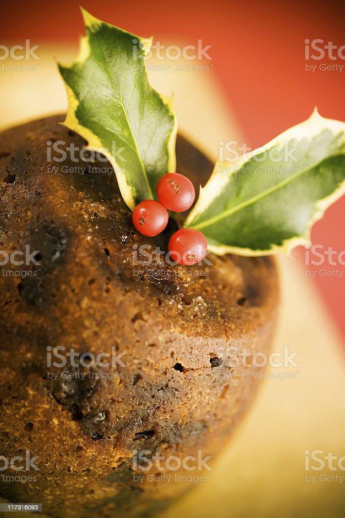 Christmas Pudding royalty-free stock photo