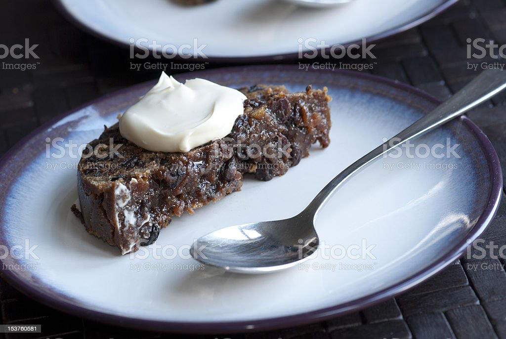 Christmas pudding - Royalty-free Almond Stock Photo