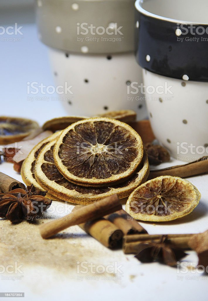 Christmas punch time royalty-free stock photo