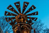 istock Christmas pyramid on a German Christmas Market at berlin 636264526