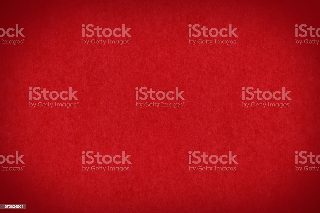 Christmas red background of traditional paper texture stock photo