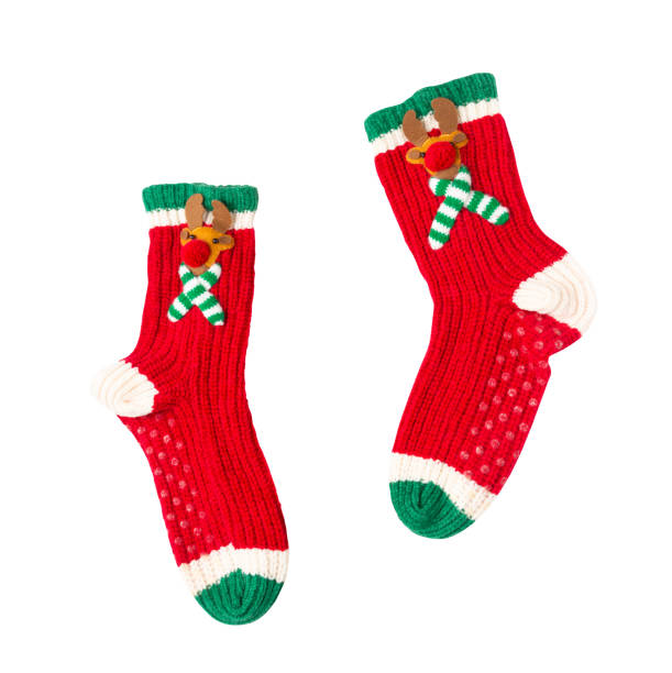 Christmas red green white cute reindeer fuzzy gripper socks isolated picture id1048109330?b=1&k=6&m=1048109330&s=612x612&w=0&h=jm4r3q40aaj4paz qugcbglzpeyh6ddwueuhtcua25i=