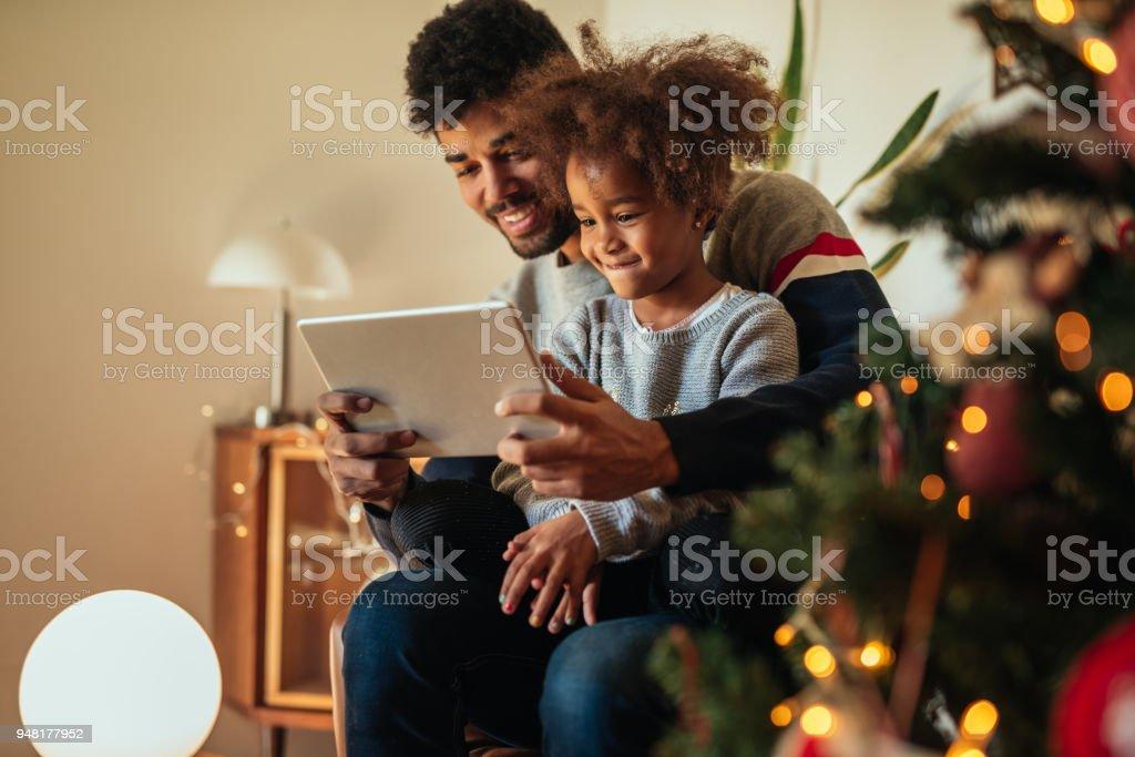 Relaxment de Noël à la maison - Photo