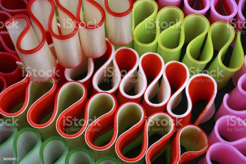 Christmas Ribbon  Candy Abstract royalty-free stock photo