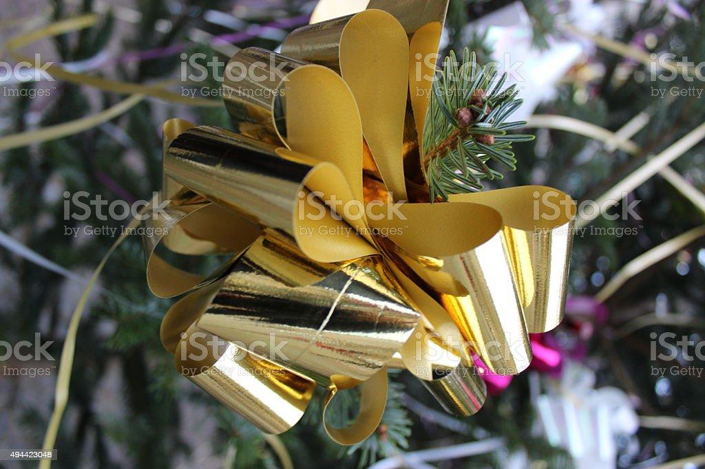 크리스마스 리본상 royalty-free 스톡 사진