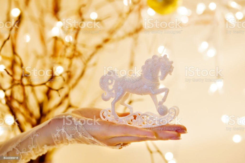 Christmas Rocking Horse Ornament Stock Photo Download Image Now Istock