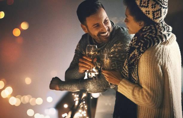 Weihnachts-Romantik. – Foto
