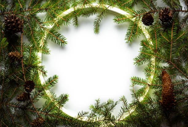 Christmas round frame made by neon and winter things on white picture id1189435036?b=1&k=6&m=1189435036&s=612x612&w=0&h=ye80bk19eb87nxgy1t4gmzcmxyvn v5 5nevjr4 sby=