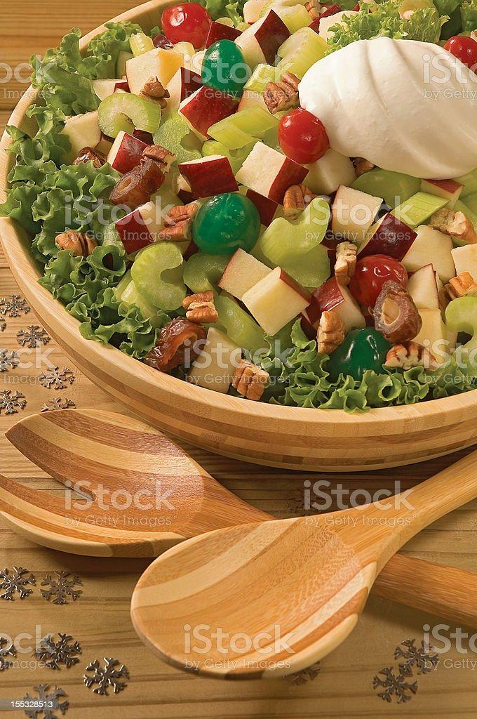 Christmas Salad royalty-free stock photo