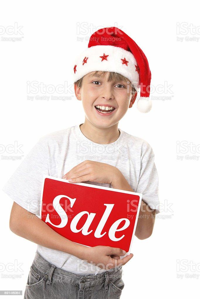 Christmas Sale royalty-free stock photo