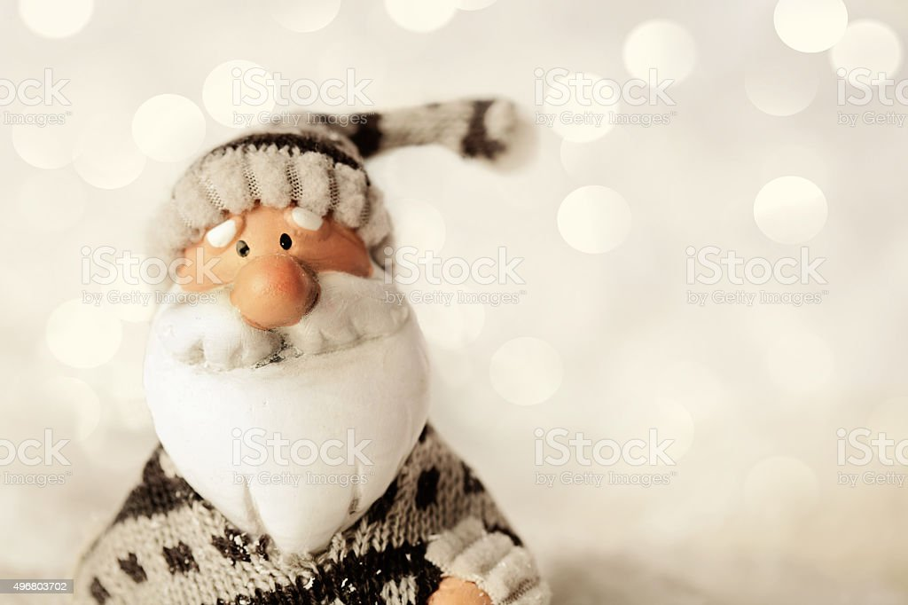 christmas santa claus stock photo