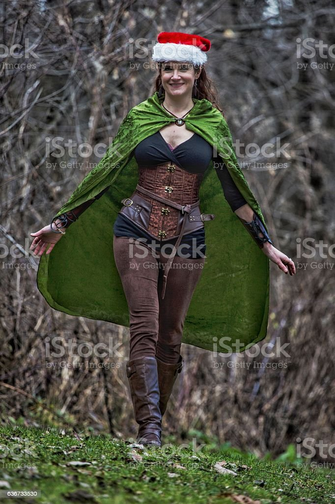 Sexy wood elf costume