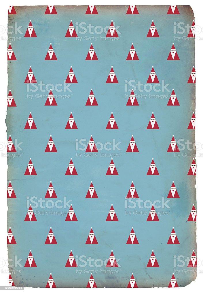 Christmas Santa Paper - XXXL stock photo
