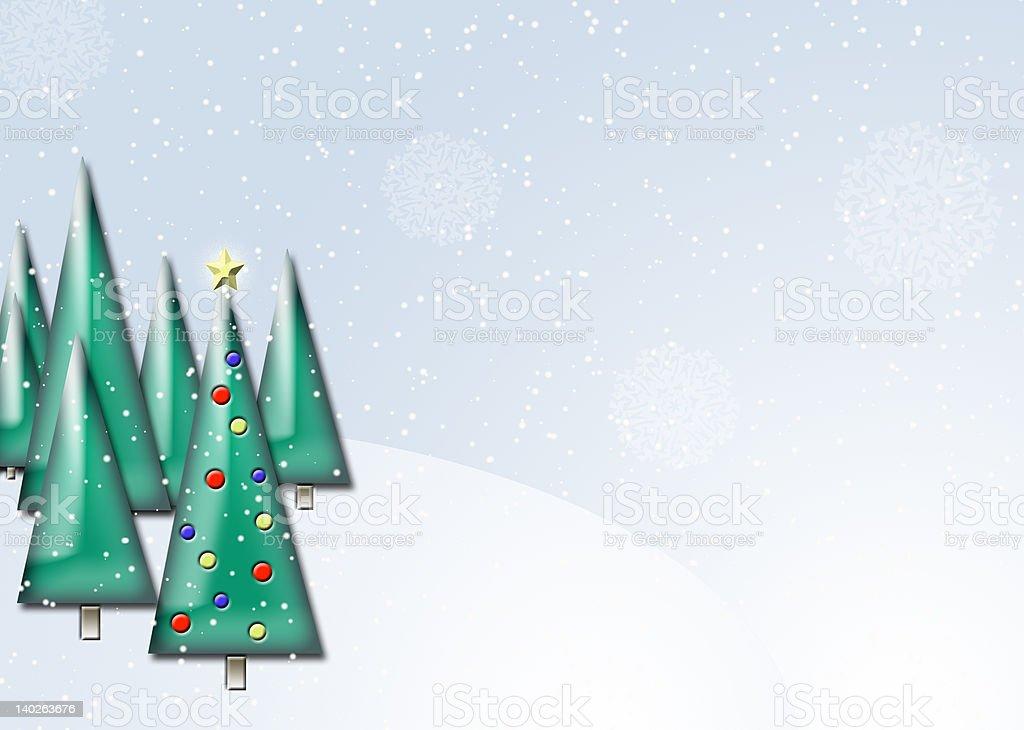 Christmas Scene royalty-free stock photo