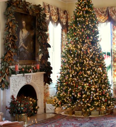 Christmas Scene Stock Photo - Download Image Now