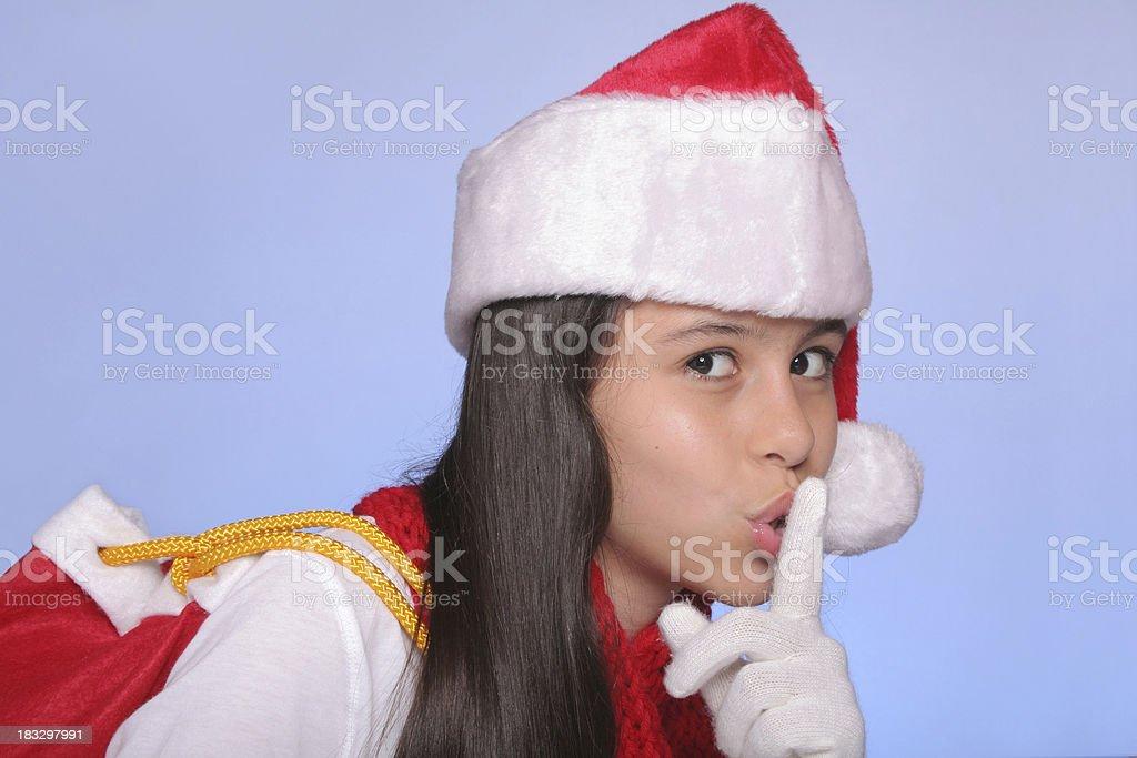 Christmas Secrets royalty-free stock photo