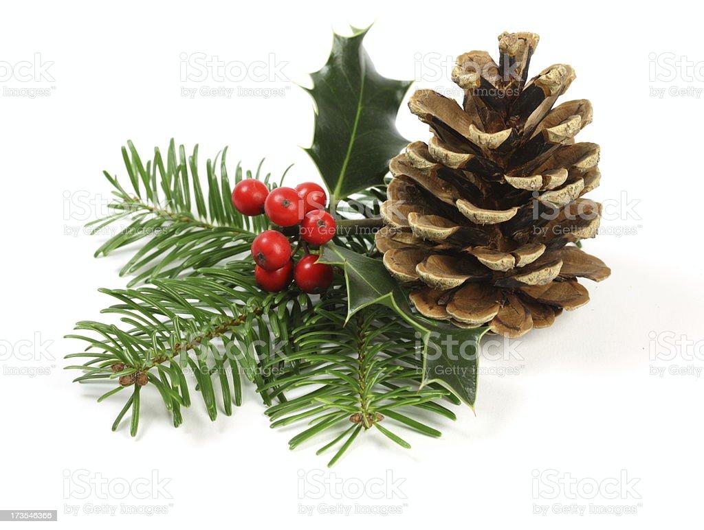 Christmas Setting stock photo