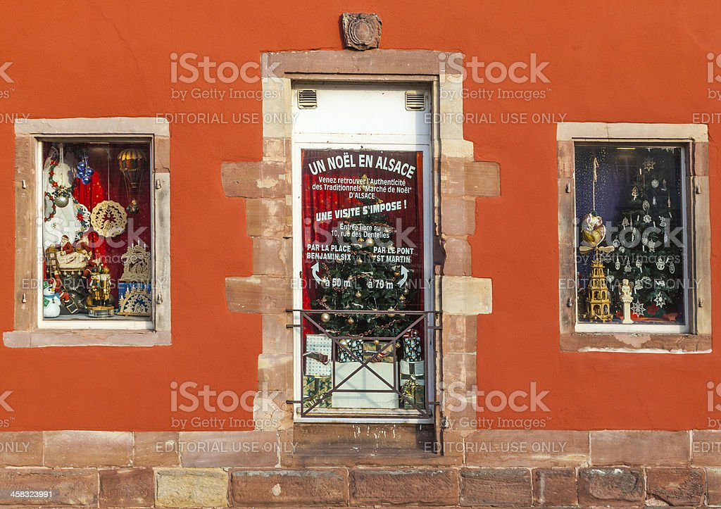 Christmas Shop Windows royalty-free stock photo