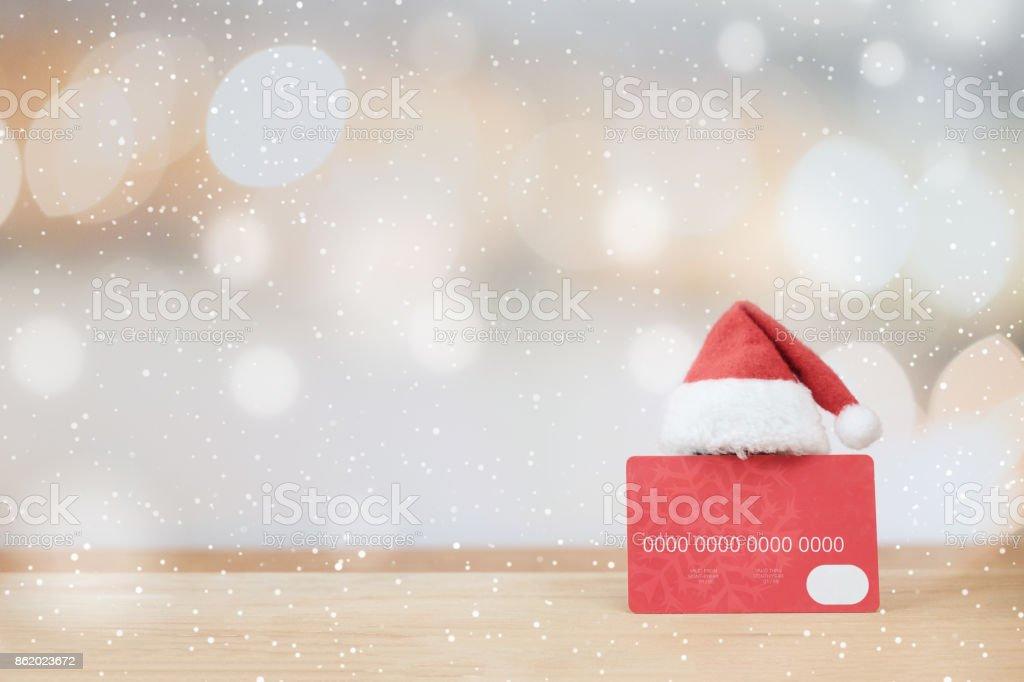 Christmas shopping Idee Konzept Hintergrund. – Foto