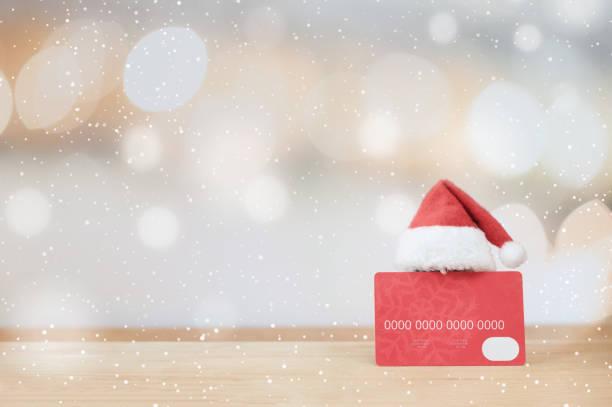 christmas shopping idea concept background. - online shopping imagens e fotografias de stock