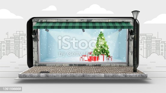 Christmas Ornament, Christmas Tree, Christmas Present, Online Shopping, Display Cabinet
