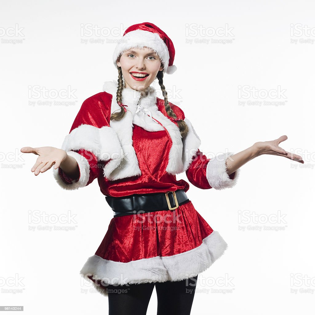 크리스마스 쇼핑 royalty-free 스톡 사진