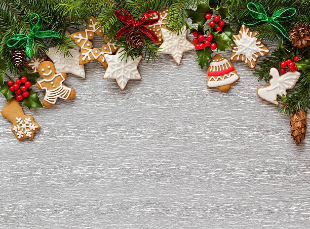 Weihnachten Silber Hintergrund – Foto