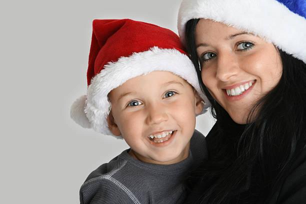 Christmas Smiles stock photo