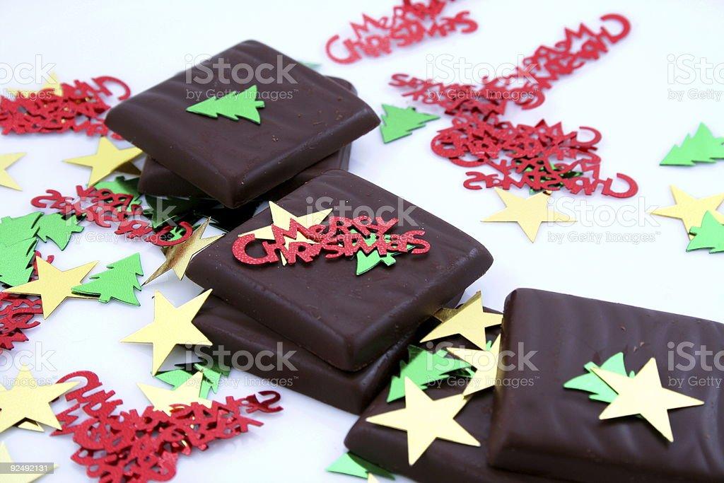 Christmas snack royalty-free stock photo
