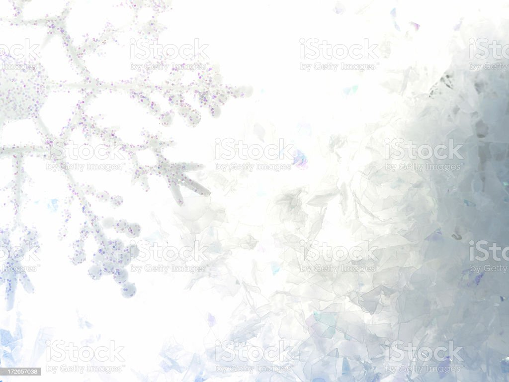 Christmas Snow 2 royalty-free stock photo