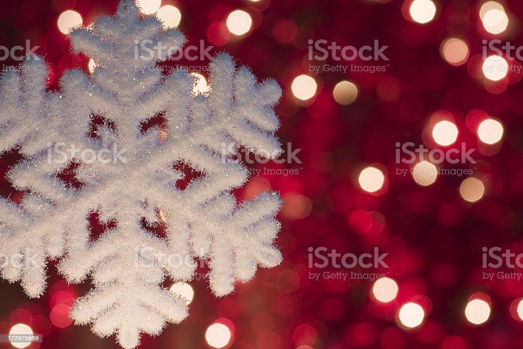 Christmas Snowflake royalty-free stock photo