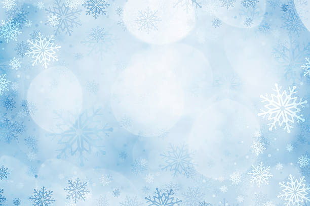 christmas snowflakes background - snowflake background stock pictures, royalty-free photos & images