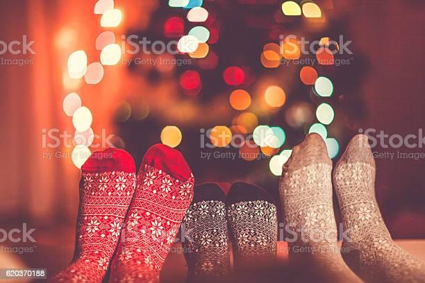 Christmas Socks Stock Photo - Download Image Now