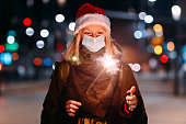 istock Christmas Sparklers During COVID-19 1281143283