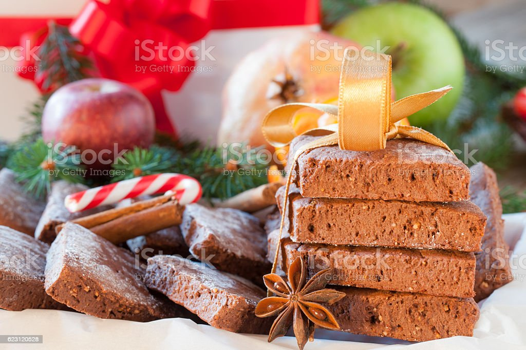 Christmas Spiced Cookies stock photo