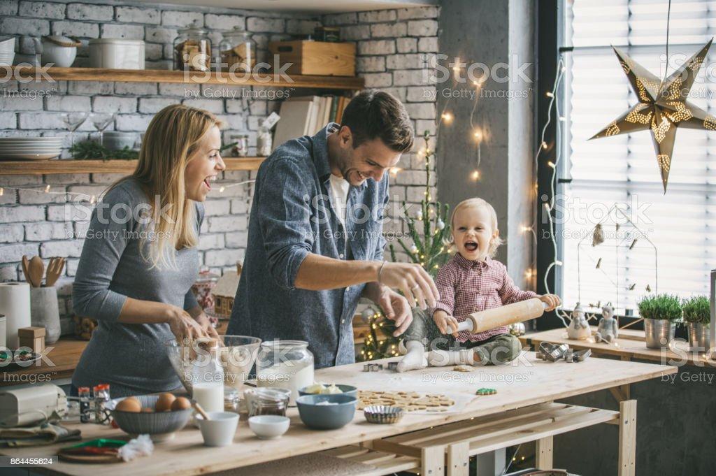 Weihnachtsstimmung in der Küche – Foto