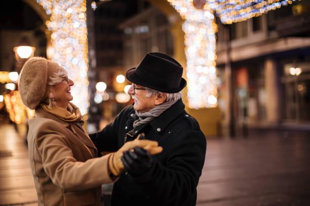 julstämning - street dance bildbanksfoton och bilder