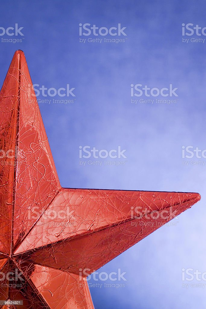 Weihnachten Sterne auf blauem Hintergrund Lizenzfreies stock-foto