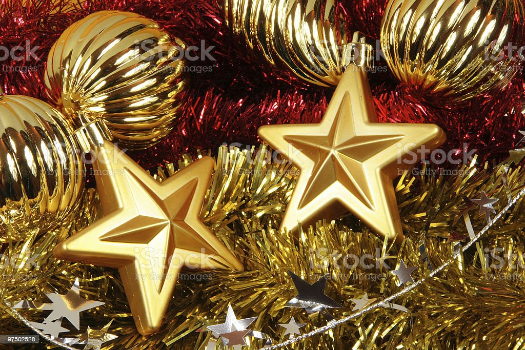 Christmas stars royalty-free stock photo
