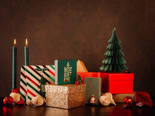 Bodegones navideños - foto de stock