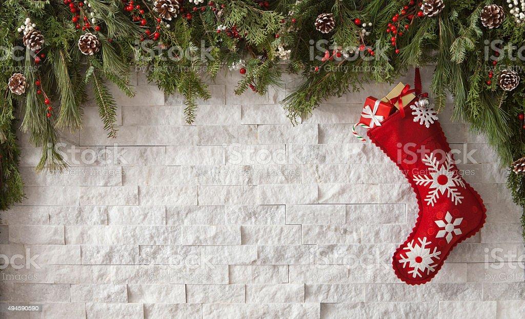 Christmas Stocking stock photo