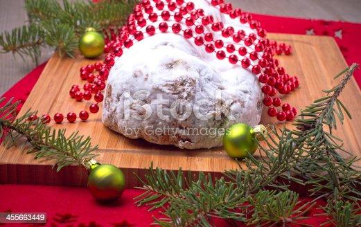 istock Christmas stollen 455663449