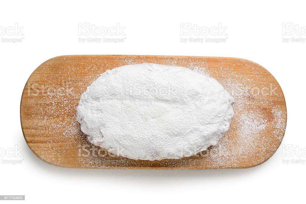 Christmas Stollen Powdered Sugar – Foto
